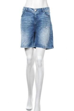 Γυναικείο κοντό παντελόνι Yessica, Μέγεθος XL, Χρώμα Μπλέ, Τιμή 4,77€