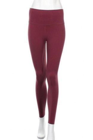 Γυναικείο κολάν Nike, Μέγεθος S, Χρώμα Κόκκινο, 63% πολυαμίδη, 37% ελαστάνη, Τιμή 36,12€