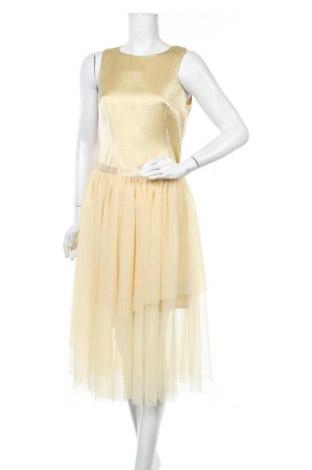 Дамски комплект Hugo Boss, Размер M, Цвят Жълт, Полиестер, Цена 197,22лв.