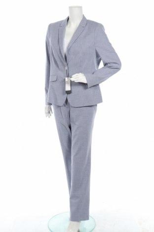 Дамски костюм S.Oliver, Размер L, Цвят Син, 51% памук, 29% полиестер, 15% вискоза, 5% еластан, Цена 136,95лв.