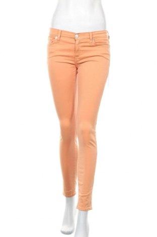 Γυναικείο παντελόνι 7 For All Mankind, Μέγεθος S, Χρώμα Πορτοκαλί, 98% βαμβάκι, 2% ελαστάνη, Τιμή 18,85€