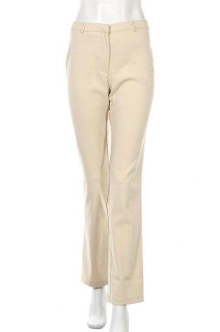 Дамски панталон Armani Jeans, Размер M, Цвят Бежов, 95% полиестер, 5% еластан, Цена 35,20лв.