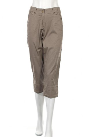 Дамски панталон Boysen's, Размер M, Цвят Кафяв, 97% памук, 3% еластан, Цена 17,01лв.