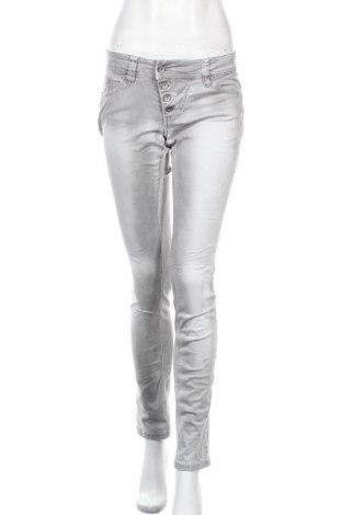 Γυναικείο παντελόνι Buena Vista, Μέγεθος S, Χρώμα Γκρί, 98% βαμβάκι, 2% ελαστάνη, Τιμή 12,15€