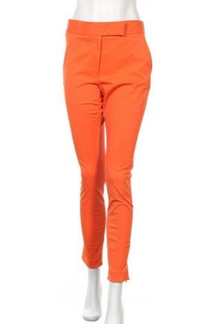 Дамски панталон COS, Размер L, Цвят Оранжев, 62% полиестер, 34% памук, 4% еластан, Цена 35,96лв.