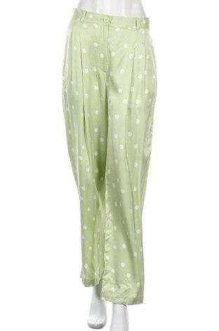 Γυναικείο παντελόνι Edited, Μέγεθος L, Χρώμα Πράσινο, Βισκόζη, Τιμή 12,45€