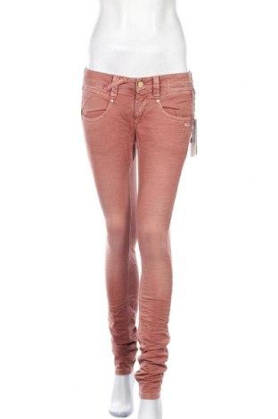 Дамски панталон Gang, Размер L, Цвят Розов, 98% памук, 2% еластан, Цена 13,22лв.