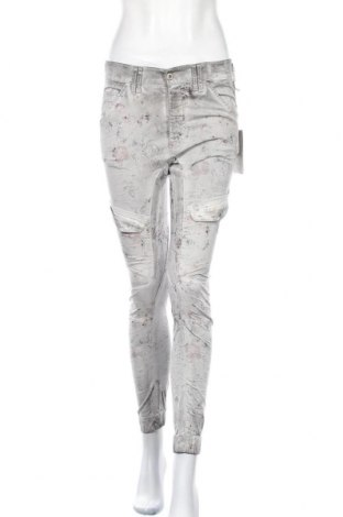 Дамски панталон Gang, Размер S, Цвят Сив, 97% памук, 3% еластан, Цена 17,85лв.