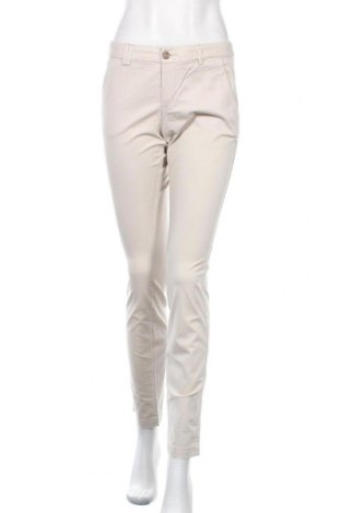 Дамски панталон H&M L.O.G.G., Размер S, Цвят Бежов, 97% памук, 3% еластан, Цена 11,03лв.