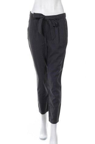 Дамски панталон H&M L.O.G.G., Размер M, Цвят Сив, 97% вискоза, 3% полиестер, Цена 21,26лв.