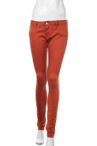 Γυναικείο παντελόνι Le Temps Des Cerises, Μέγεθος M, Χρώμα Πορτοκαλί, 97% βαμβάκι, 3% ελαστάνη, Τιμή 15,98€