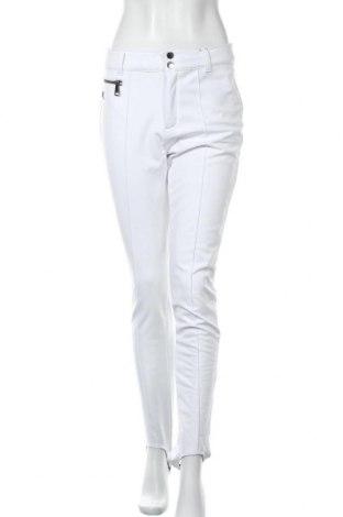 Дамски панталон Luhta, Размер S, Цвят Бял, 90% полиестер, 10% еластан, Цена 55,77лв.