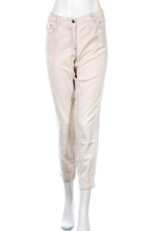 Дамски панталон Marc Aurel, Размер L, Цвят Бежов, Цена 31,92лв.