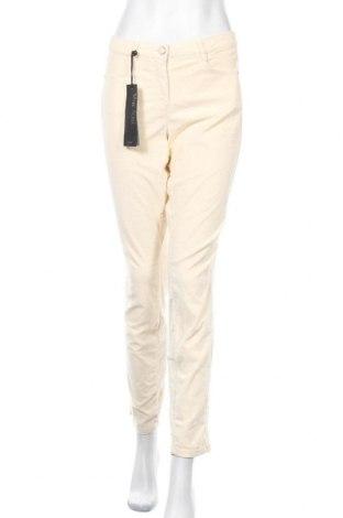 Дамски панталон Marc Aurel, Размер XL, Цвят Екрю, 69% памук, 29% полиестер, 2% еластан, Цена 87,45лв.