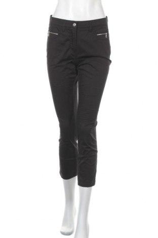 Дамски панталон Marco Pecci, Размер S, Цвят Черен, 97% памук, 3% еластан, Цена 15,75лв.