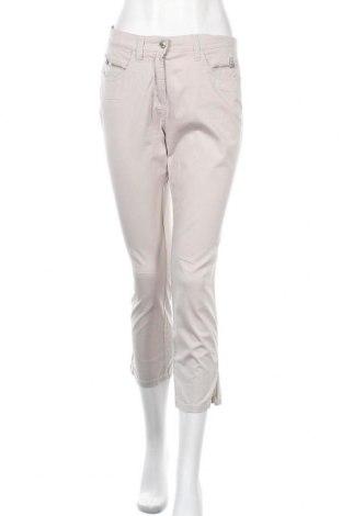 Дамски панталон Marco Pecci, Размер S, Цвят Сив, 97% памук, 3% еластан, Цена 14,44лв.