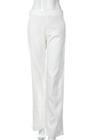Дамски панталон Massimo Dutti, Размер M, Цвят Бял, 68% вискоза, 29% полиестер, 3% еластан, Цена 27,25лв.