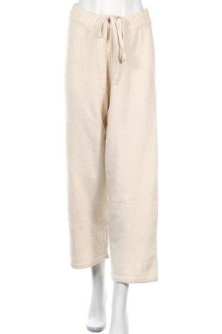 Дамски панталон Monki, Размер S, Цвят Бежов, Цена 24,32лв.