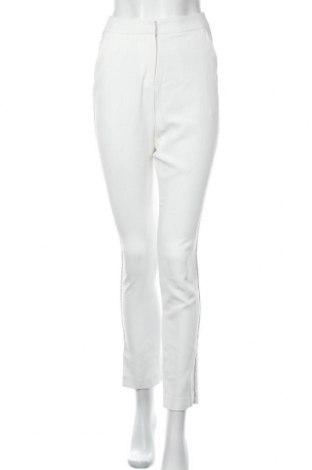 Γυναικείο παντελόνι Nly Trend, Μέγεθος XXS, Χρώμα Λευκό, Πολυεστέρας, Τιμή 16,12€