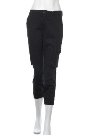 Γυναικείο παντελόνι ONLY, Μέγεθος S, Χρώμα Μαύρο, 98% βαμβάκι, 2% ελαστάνη, Τιμή 9,73€