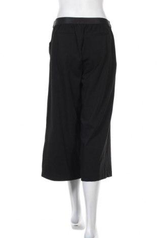 Дамски панталон Object, Размер M, Цвят Черен, 62% полиестер, 33% вискоза, 5% еластан, Цена 6,89лв.