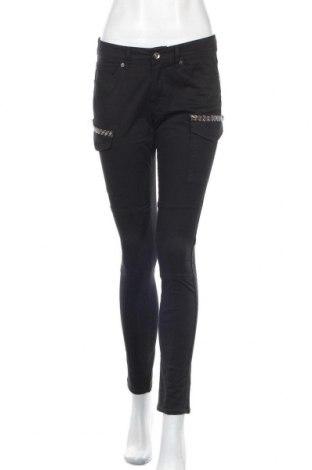 Pantaloni de femei S.Oliver, Mărime S, Culoare Negru, 41% bumbac, 24% lyocell, 18% viscoză, 13% poliester, 4% elastan, Preț 14,82 Lei
