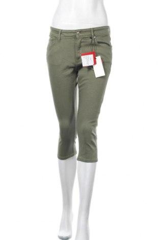 Γυναικείο παντελόνι S.Oliver, Μέγεθος S, Χρώμα Πράσινο, 50% βαμβάκι, 40% βισκόζη, 8% πολυεστέρας, 2% ελαστάνη, Τιμή 8,14€