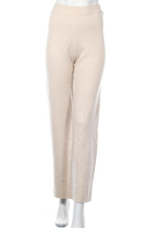 Дамски панталон Someday., Размер S, Цвят Бежов, 47% полиестер, 31% полиамид, 17% полиакрил, 5% вълна, Цена 24,80лв.