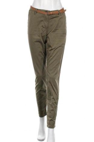 Γυναικείο παντελόνι Tom Tailor, Μέγεθος M, Χρώμα Πράσινο, 97% βαμβάκι, 3% ελαστάνη, Τιμή 34,41€
