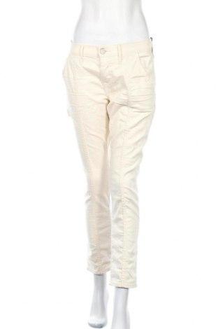 Дамски панталон True Religion, Размер L, Цвят Бежов, 92% памук, 6% полиестер, 2% еластан, Цена 73,80лв.