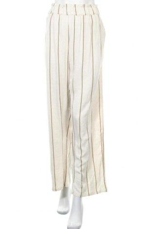 Дамски панталон Y.A.S, Размер XL, Цвят Екрю, 90% вискоза, 10% лен, Цена 46,72лв.