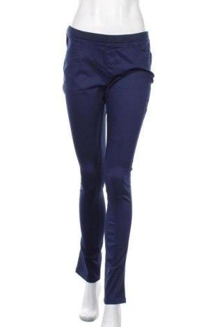 Дамски панталон Zebra, Размер L, Цвят Син, 97% памук, 3% еластан, Цена 16,38лв.