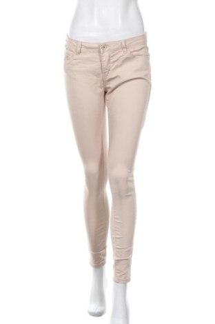 Дамски панталон Zebra, Размер M, Цвят Бежов, 65% памук, 31% полиестер, 4% еластан, Цена 8,82лв.