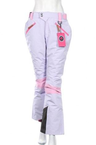 Дамски панталон за зимни спортове Oosc, Размер M, Цвят Лилав, Полиестер, Цена 64,22лв.