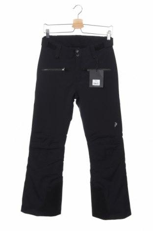 Дамски панталон за зимни спортове Peak Performance, Размер XS, Цвят Черен, Полиестер, Цена 95,37лв.