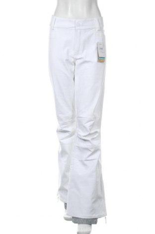 Дамски панталон за зимни спортове Roxy, Размер XL, Цвят Бял, Полиестер, Цена 68,02лв.