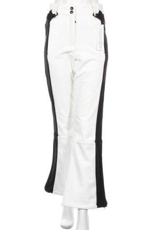 Дамски панталон за зимни спортове Topshop, Размер M, Цвят Бял, 80% полиамид, 20% еластан, Цена 64,22лв.