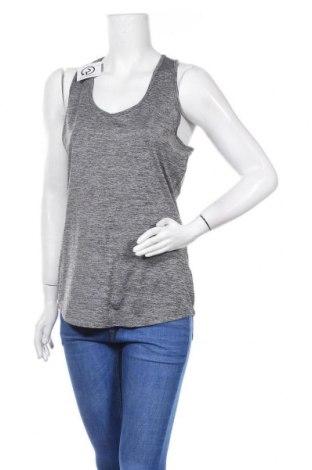 Γυναικείο αμάνικο μπλουζάκι Active By Tchibo, Μέγεθος M, Χρώμα Γκρί, 90% πολυεστέρας, 10% ελαστάνη, Τιμή 3,64€