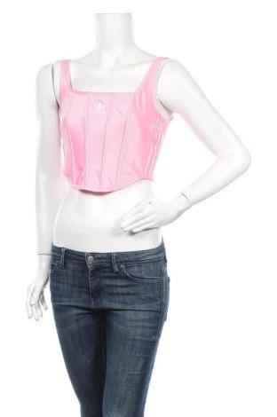 Γυναικείο αμάνικο μπλουζάκι Adidas Originals, Μέγεθος S, Χρώμα Ρόζ , 93% πολυεστέρας, 7% ελαστάνη, Τιμή 34,41€