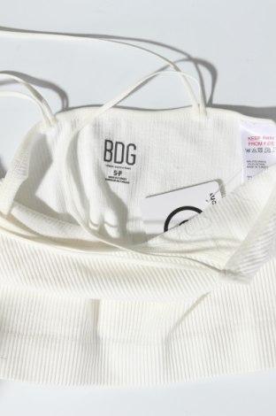 Γυναικείο αμάνικο μπλουζάκι BDG, Μέγεθος S, Χρώμα Εκρού, 94% πολυαμίδη, 6% ελαστάνη, Τιμή 10,82€