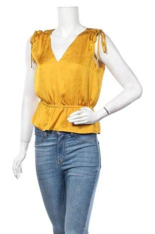 Γυναικείο αμάνικο μπλουζάκι Banana Republic, Μέγεθος M, Χρώμα Κίτρινο, Πολυεστέρας, Τιμή 4,23€