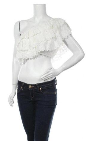 Γυναικείο αμάνικο μπλουζάκι Elsa, Μέγεθος M, Χρώμα Λευκό, 55% βισκόζη, 45% βαμβάκι, Τιμή 12,63€