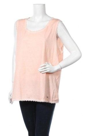 Γυναικείο αμάνικο μπλουζάκι Gina Laura, Μέγεθος 3XL, Χρώμα Ρόζ , 90% πολυαμίδη, 10% ελαστάνη, Τιμή 5,71€