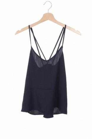 Γυναικείο αμάνικο μπλουζάκι Hollister, Μέγεθος XS, Χρώμα Μπλέ, Πολυεστέρας, Τιμή 3,18€