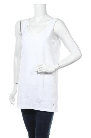 Дамски потник Tamaris, Размер XL, Цвят Бял, 95% памук, 5% еластан, Цена 11,34лв.