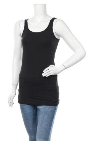 Дамски потник Tamaris, Размер XS, Цвят Черен, 95% памук, 5% еластан, Цена 9,86лв.