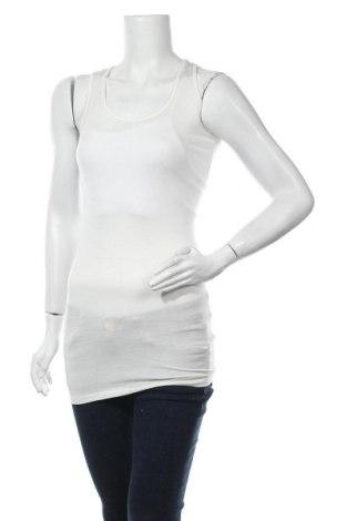 Γυναικείο αμάνικο μπλουζάκι Vert De Rage, Μέγεθος S, Χρώμα Λευκό, 65% πολυεστέρας, 33% βαμβάκι, 2% ελαστάνη, Τιμή 2,95€