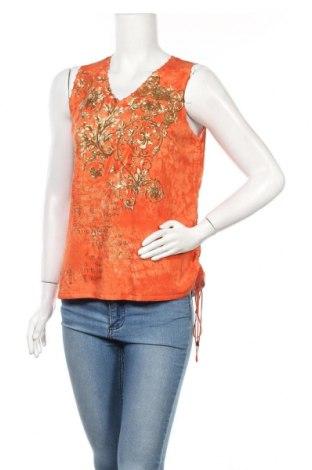 Дамски пуловер Elena Miro, Размер S, Цвят Оранжев, Вискоза, Цена 18,90лв.