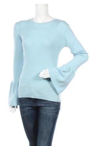 Дамски пуловер 2ND Day, Размер L, Цвят Син, Вълна, Цена 60,42лв.