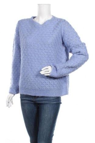 Дамски пуловер 2ND Day, Размер XL, Цвят Син, 50% акрил, 39% мохер, 11% вълна, Цена 53,96лв.